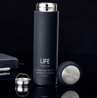 Супер термос с резиновым покрытием «Life»