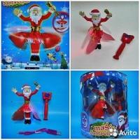 Летающий Санта Клаус