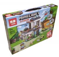 Конструктор LEDUO Майнкрафт (Minecraft) 6012, 3в1 Заправка, 467 деталей