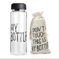 Бутылка My bootle в чехле