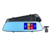 Видеорегистратор зеркало HD Touch Dual Lens Driving Recorder