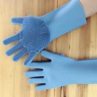 Резиновые перчатки для мытья посуды