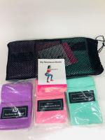 Тканевые фитнес-резинки Luting Pump, эспандеры с мешочком для хранения