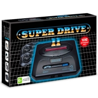 Sega Super Drive 2 Classic (105-in-1) Black.