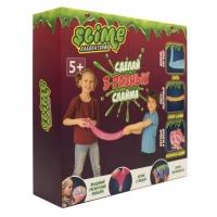 """Игрушка ТМ """"Slime"""" Средний  набор 3 в 1 """"Лаборатория"""", 300 гр."""