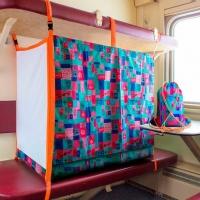 Детская ЖД перевозка в поезд 0-8 лет принт